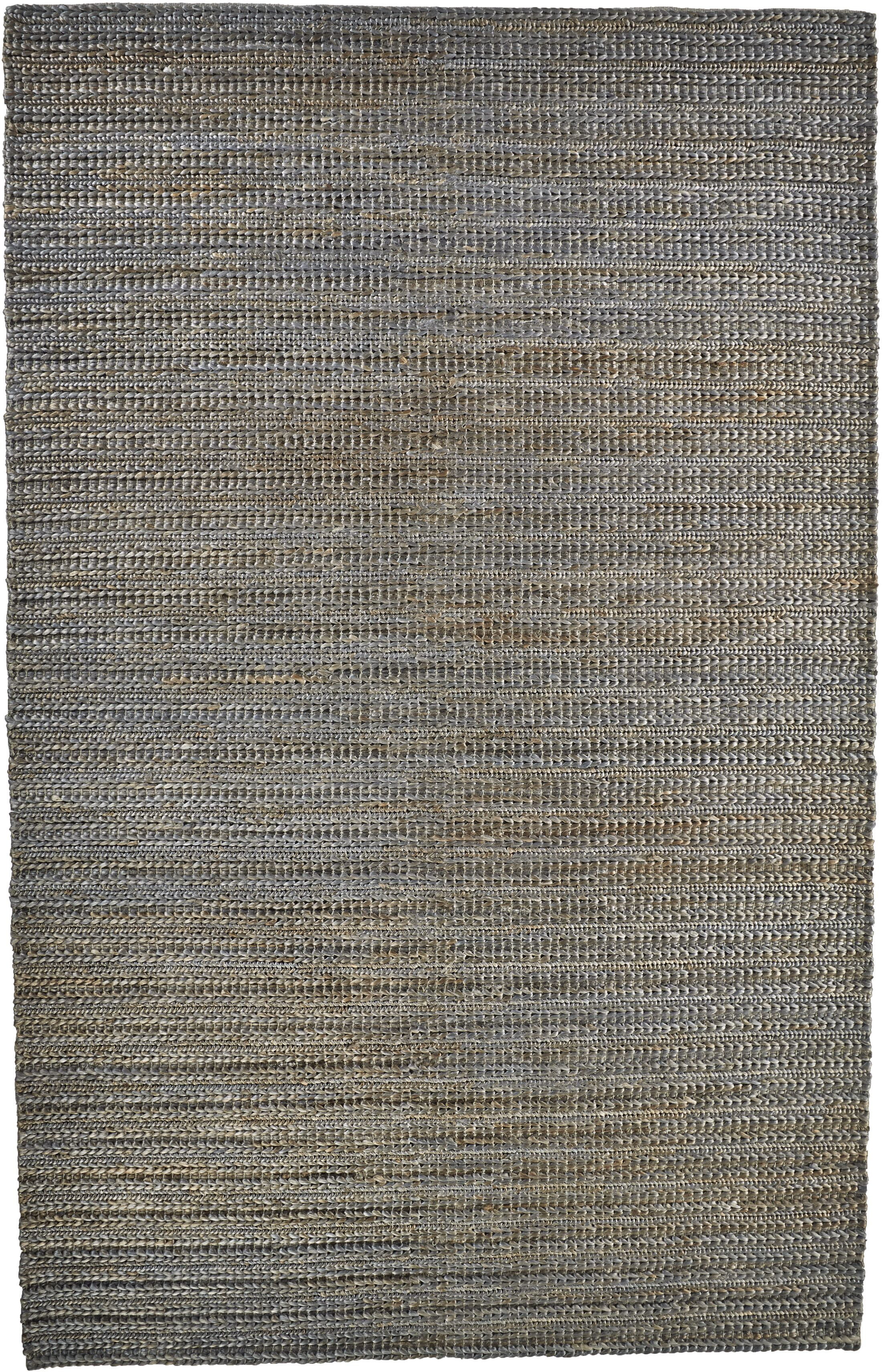 Riaria Hand-Woven Bluestone Area Rug Rug Size: Rectangle 5' x 8'