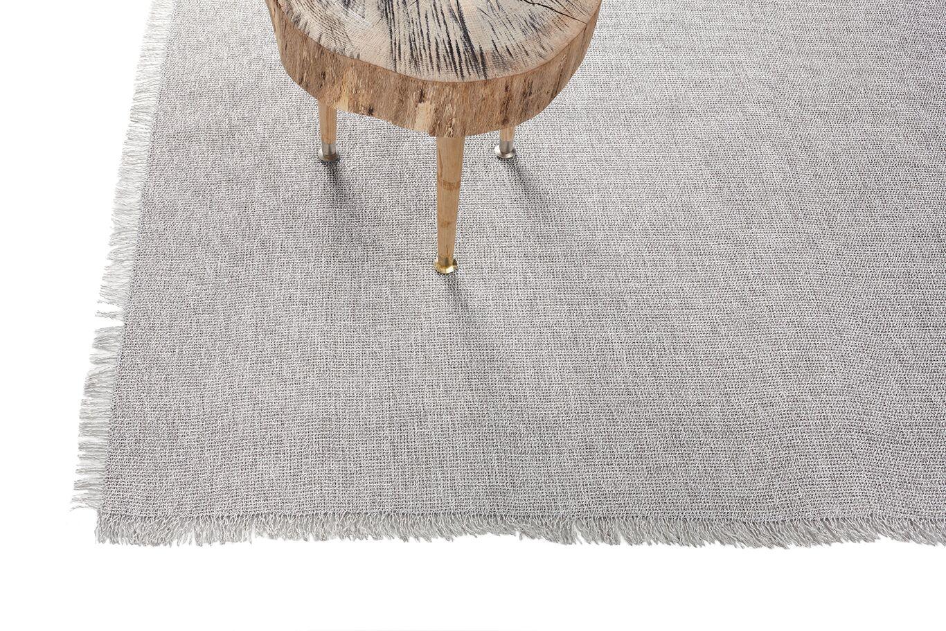 Market Fringe Gray Indoor/Outdoor Area Rug Rug Size: Rectangle 4'10 x 7