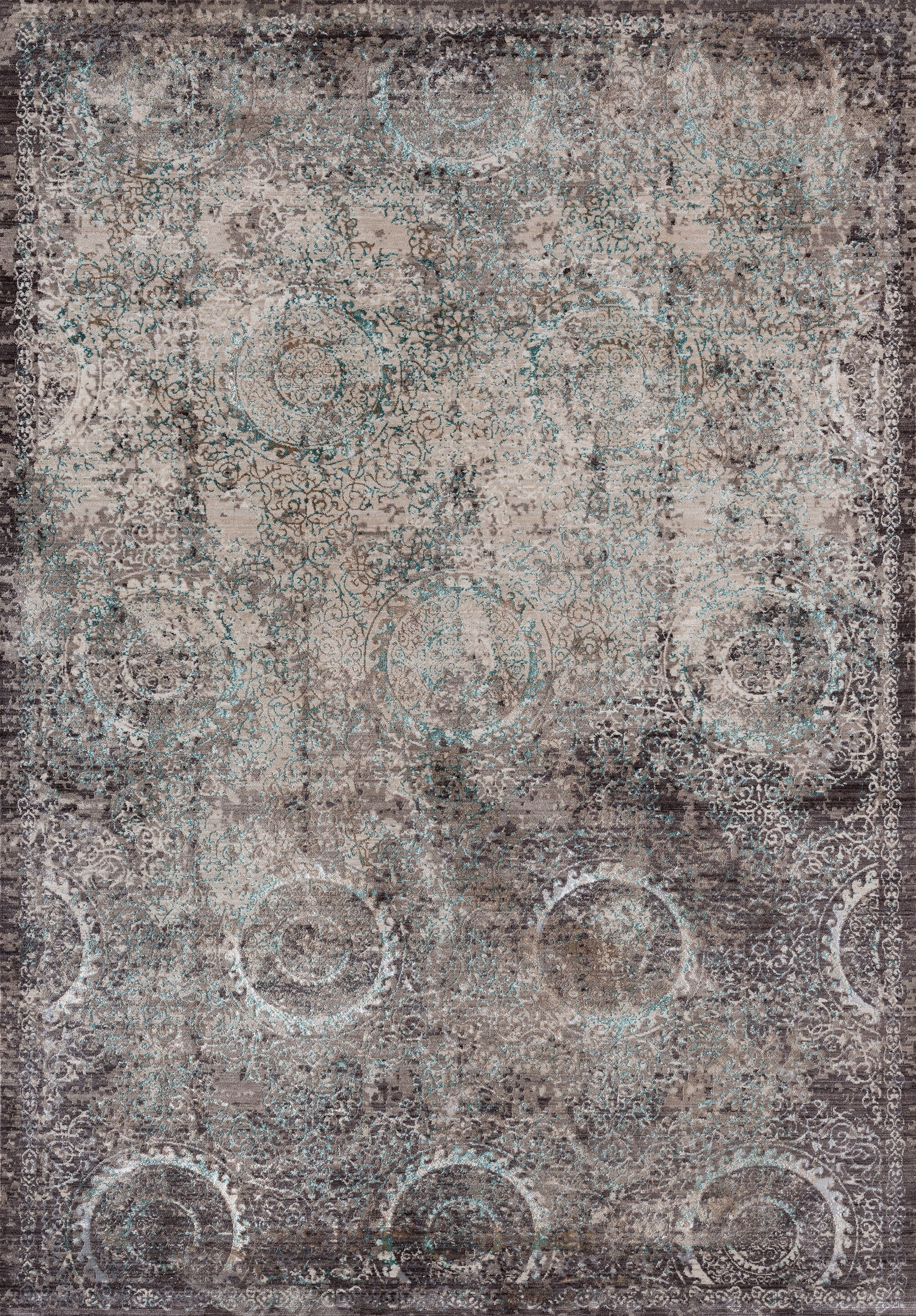 Rummond Brown/Taupe Area Rug Rug Size: Rectangle10'8