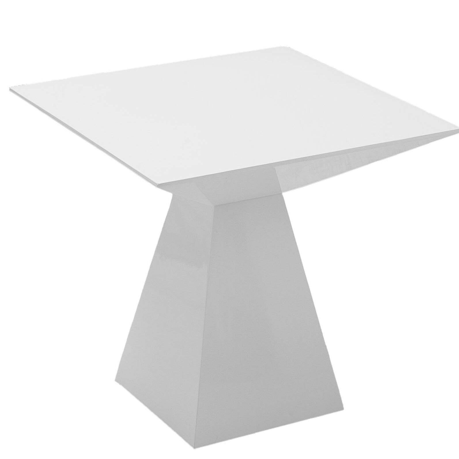 Danley End Table Color: White
