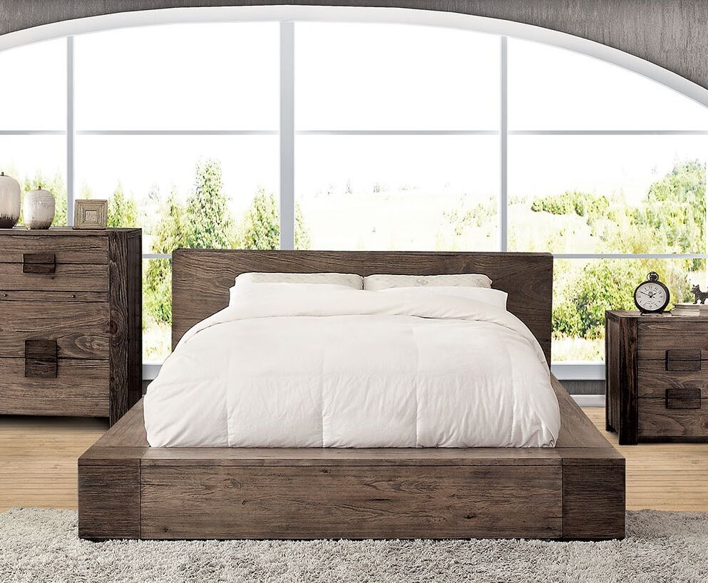 Blocher Platform Bed Size: California king size