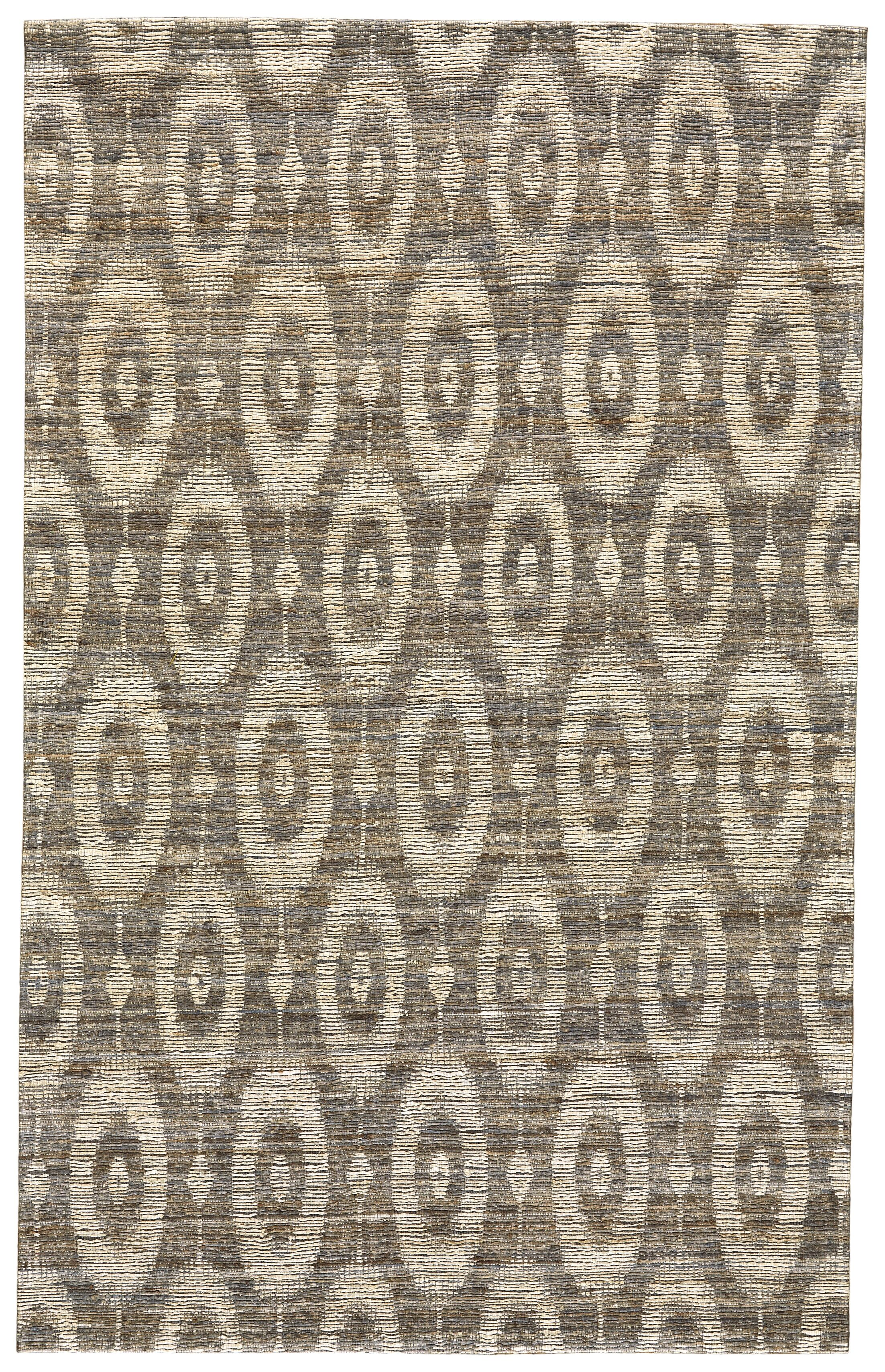 Reich Hand-Woven Gray Area Rug Rug Size: Rectangle 8' x 11'