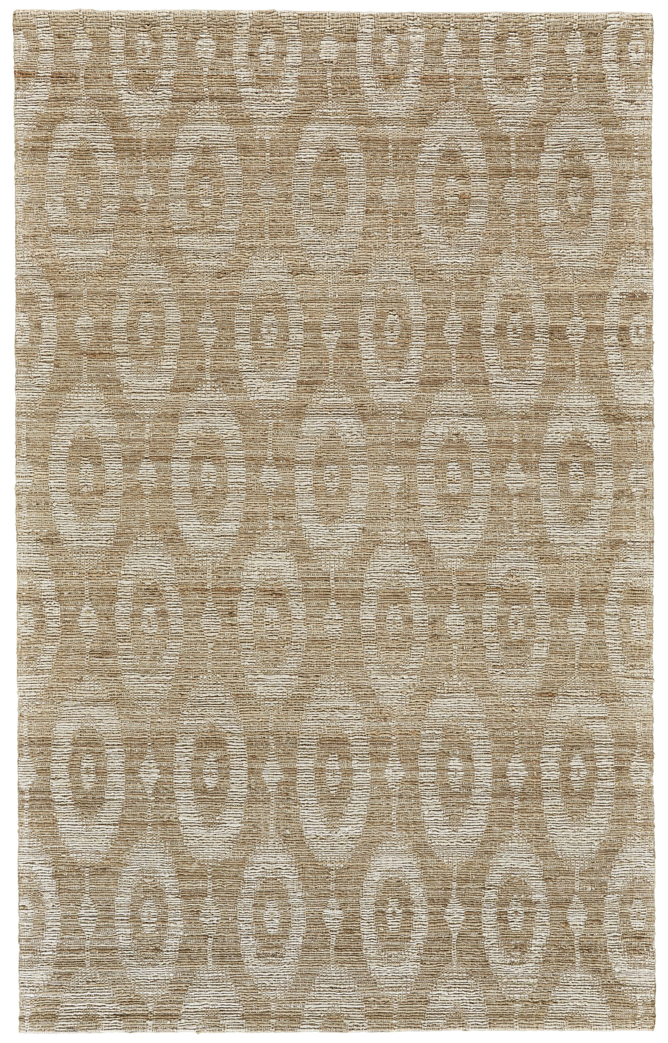Reich Hand-Woven Brown Area Rug Rug Size: Rectangle 8' x 11'