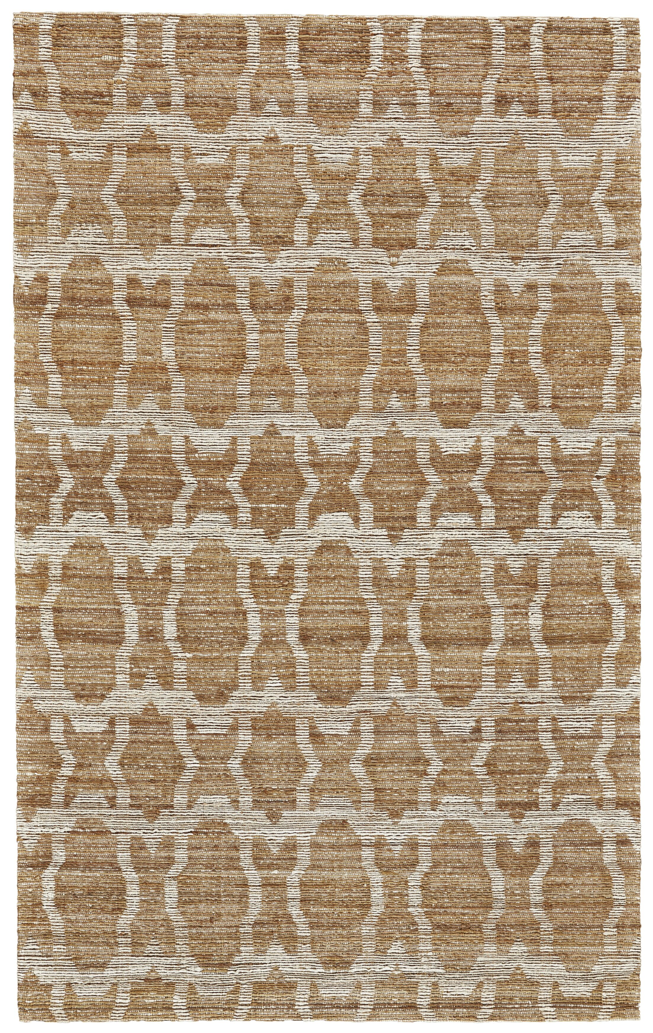 Reich Hand-Woven Gold Area Rug Rug Size: Rectangle 9'6