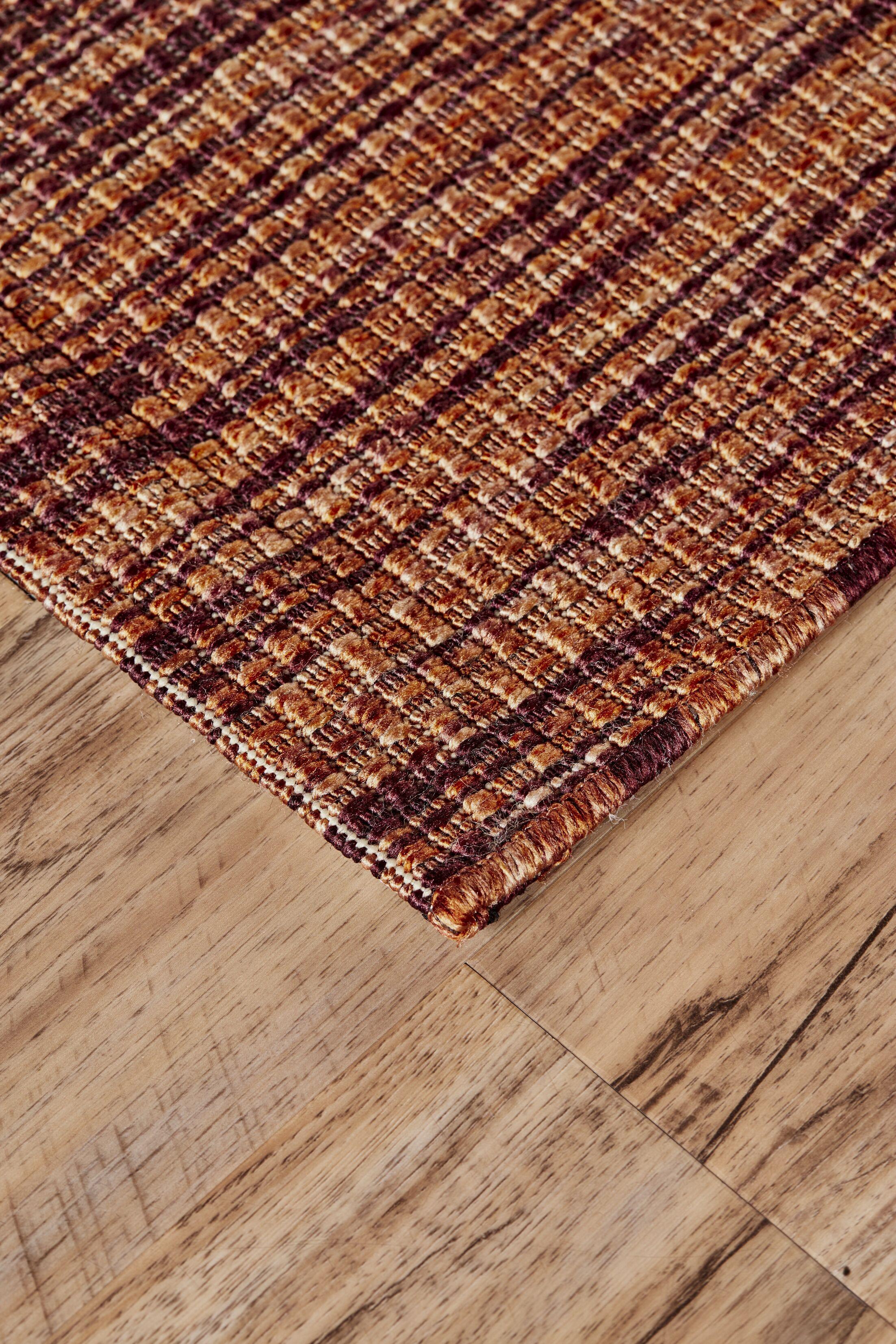 Knutsen Marigold Indoor/Outdoor Area Rug Rug Size: Round 9'-10