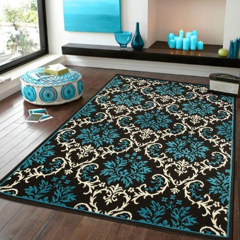 Bethzy Entrance Blue Indoor/Outdoor Area Rug Rug Size: Rectangle 8' x 11'