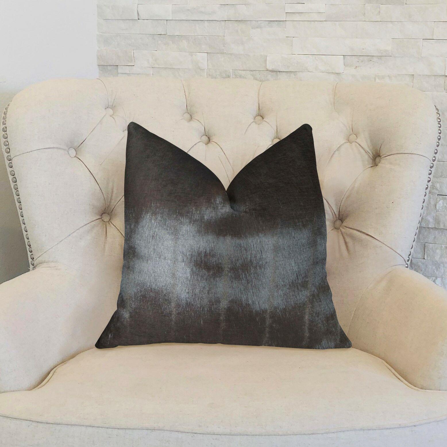 Galusha Silky Mink Handmade Luxury Pillow Size: 20