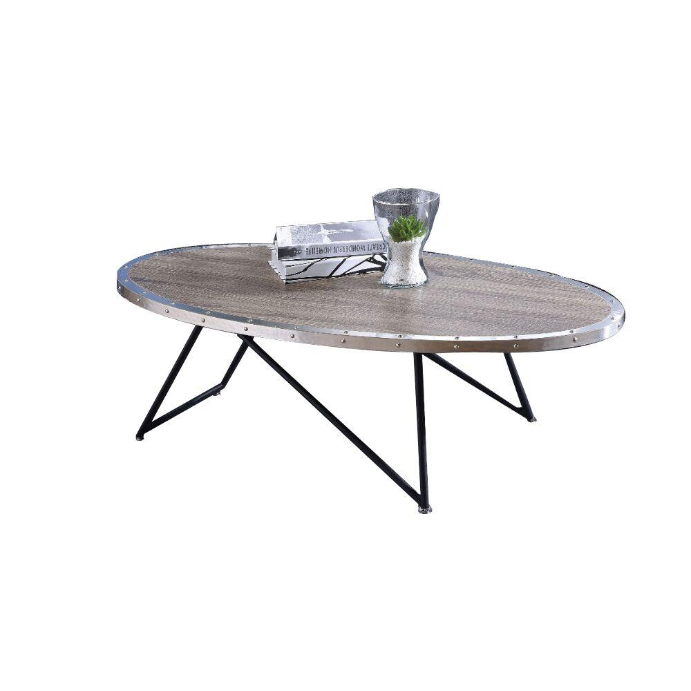 Melgar Coffee Table Table Top Color: Gray Oak