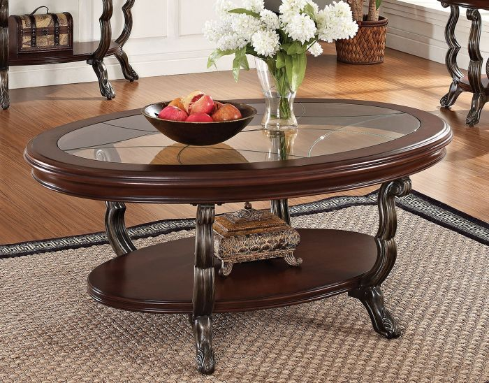 Sherilyn Lavish Coffee Table with Storage