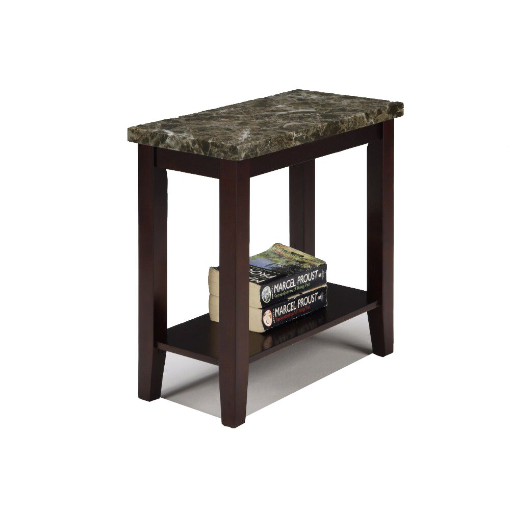 Overkamp End Table with Storage