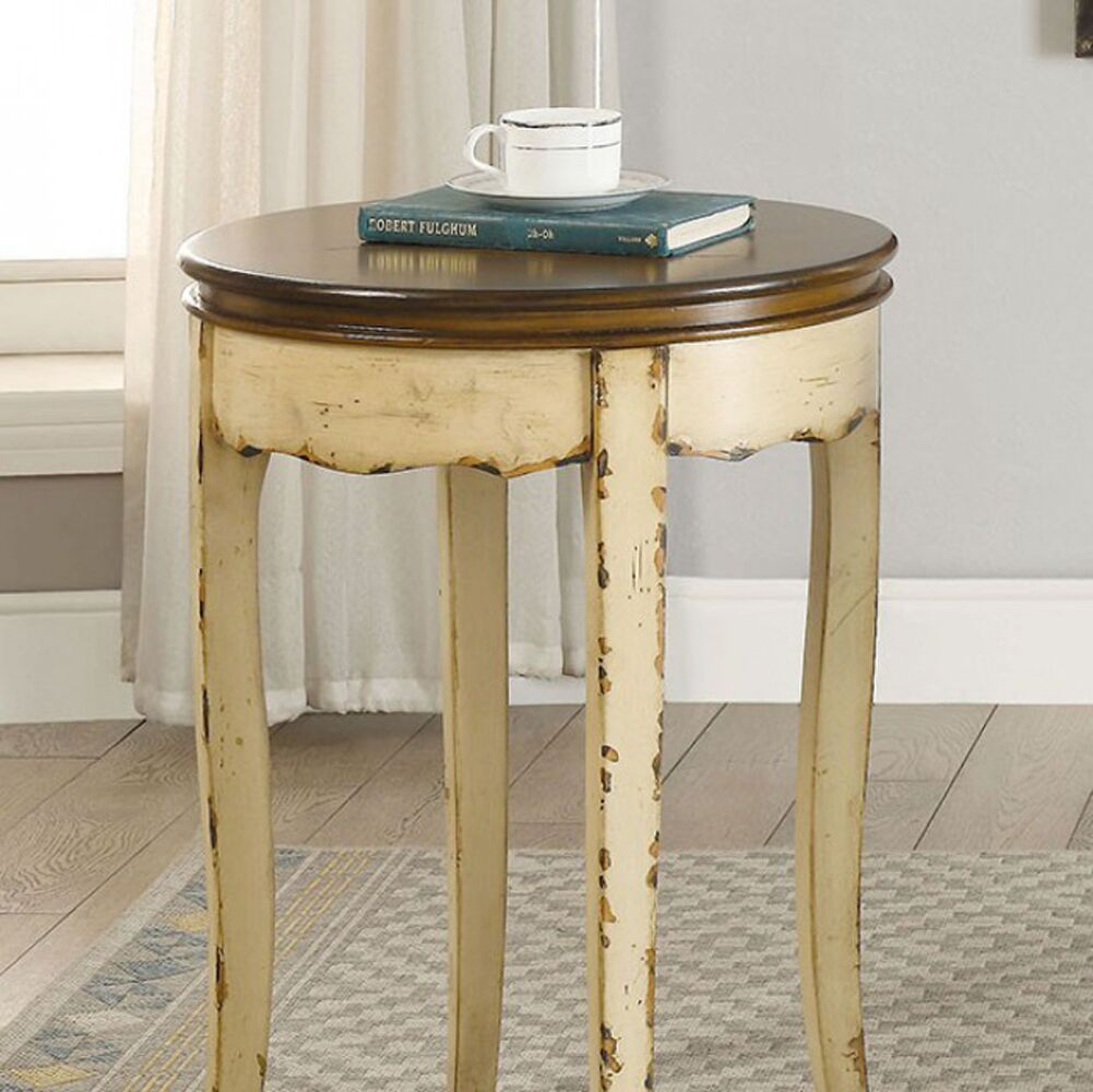 Willcox End Table Table Base Color: Beige