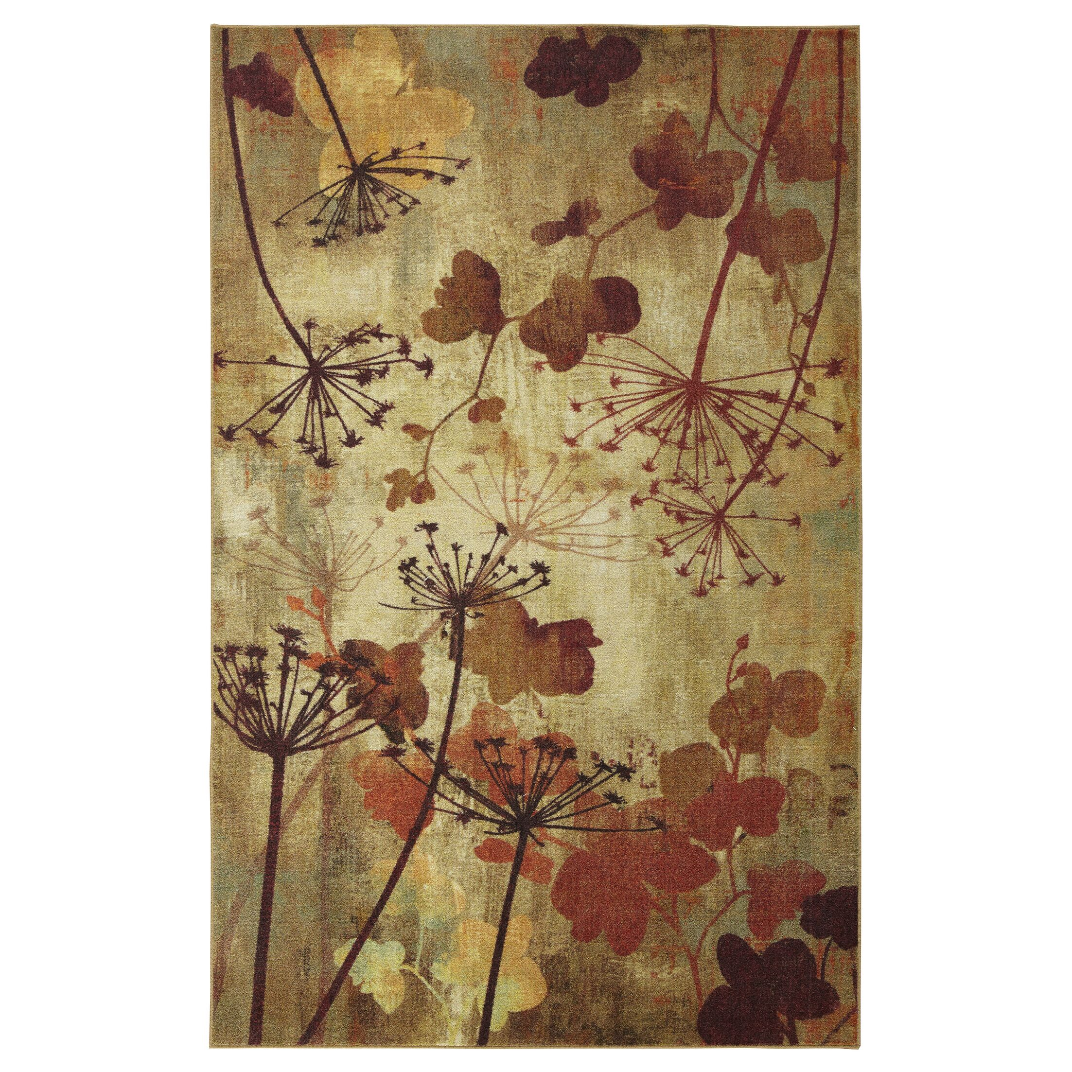 Fedna Autumn Branches Rustburn Area Rug Rug Size: Rectangle 8' x 10'
