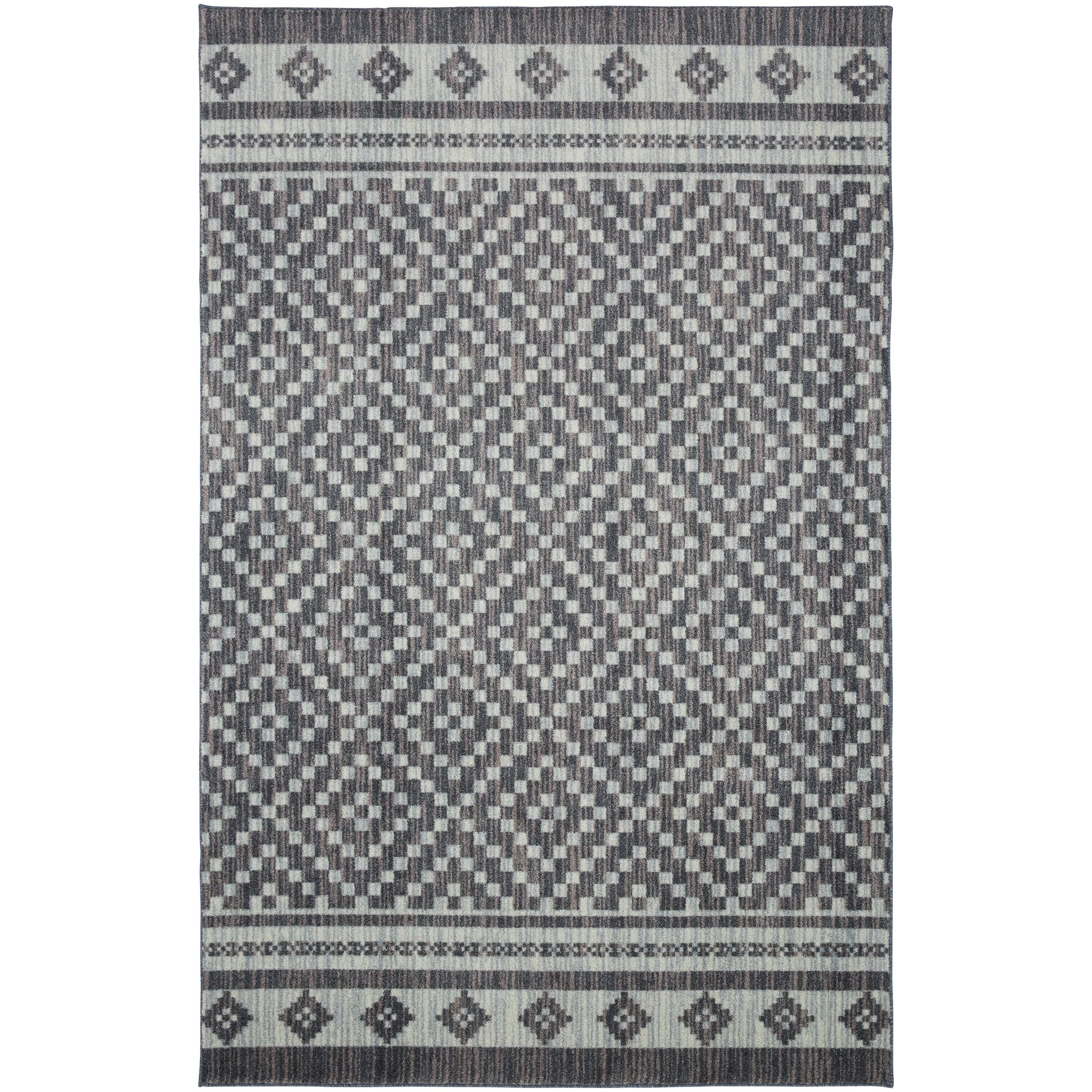Weinmann Gray/Blue Area Rug Rug Size: Rectangle 8' x 10'