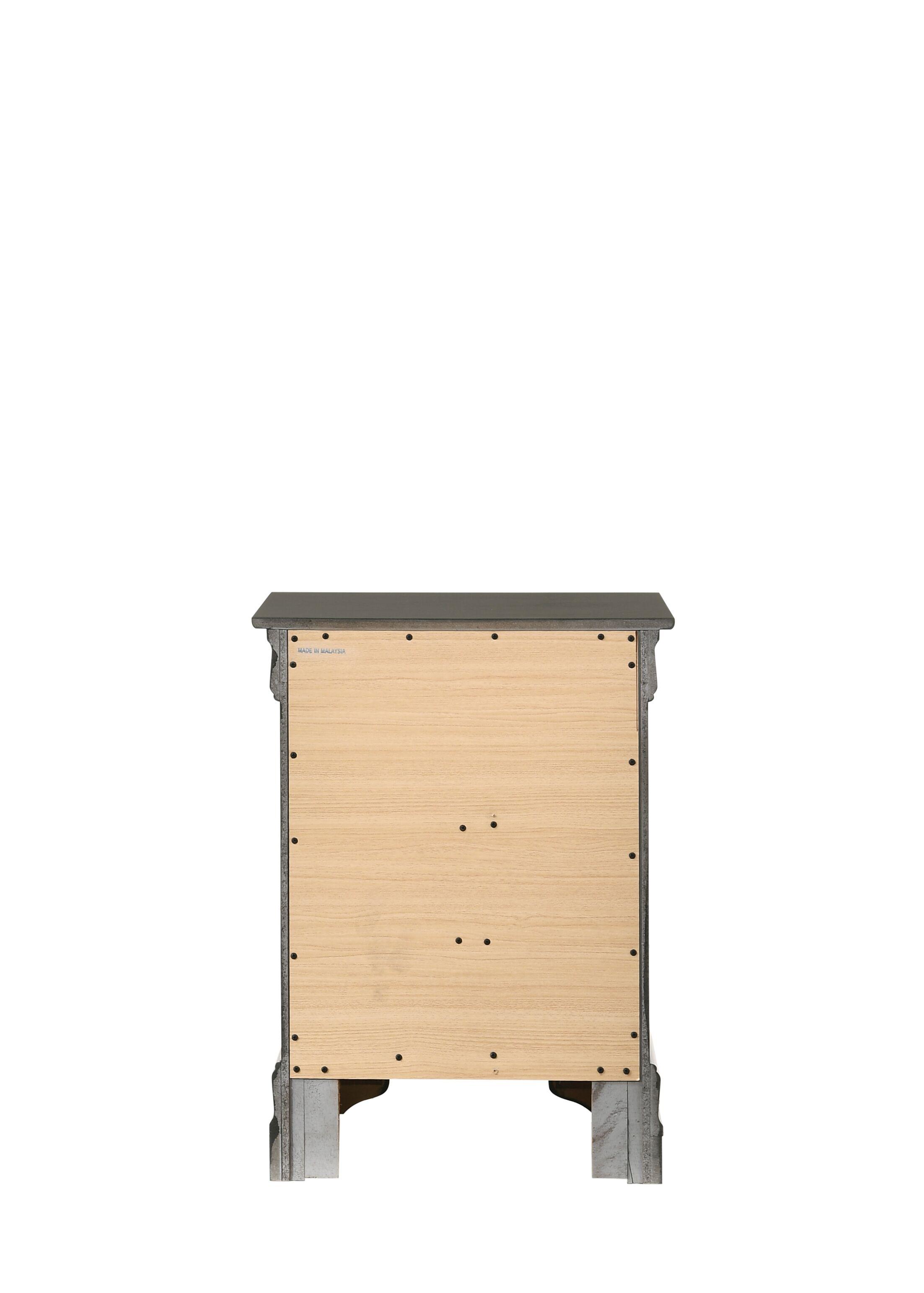 Lisle 3 Drawer Nightstand Color: Oak