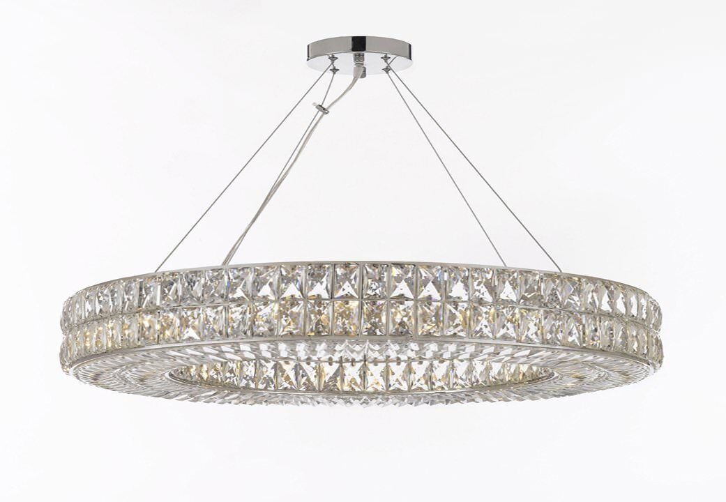 Linsey 17-Light Crystal Chandelier