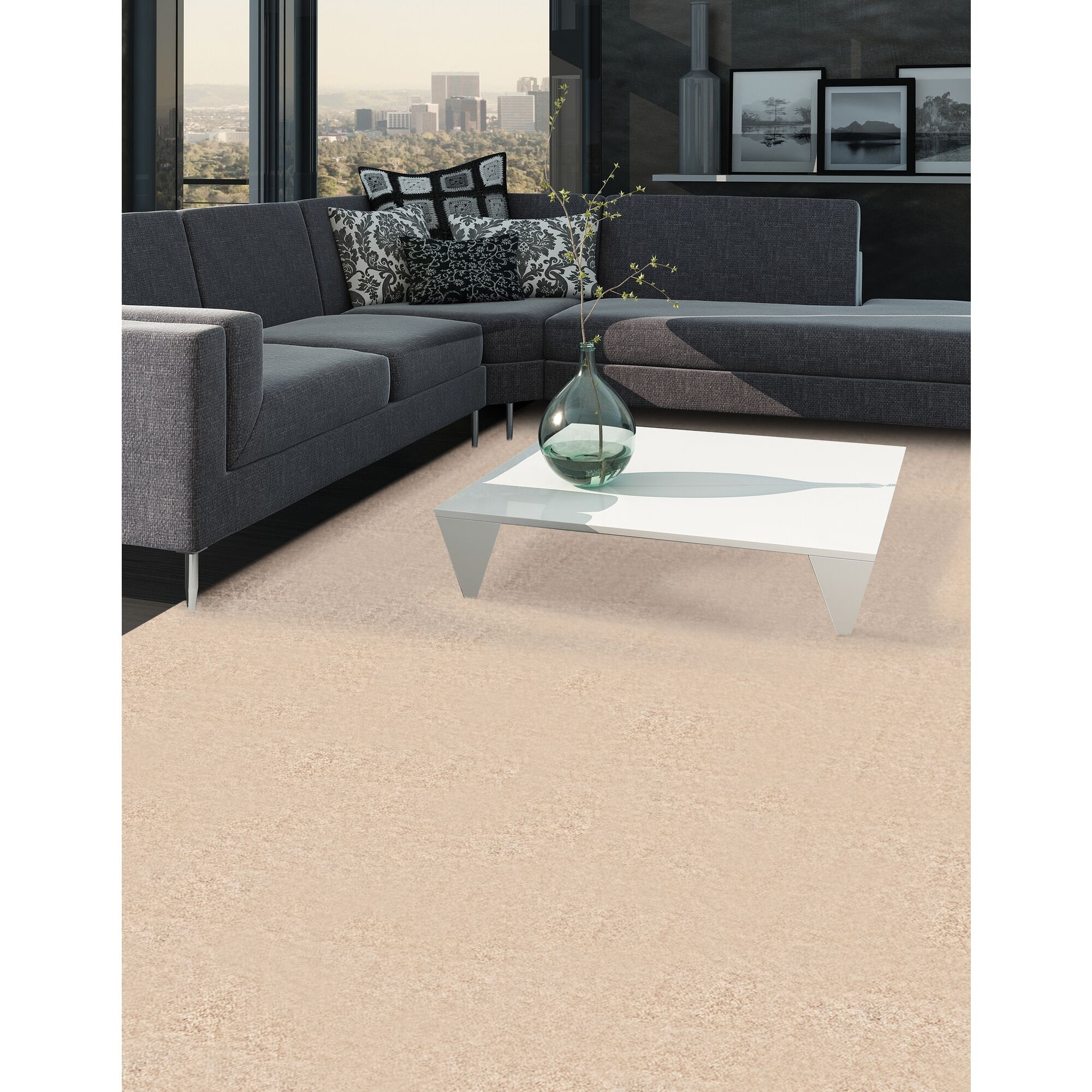 Rangel Butter Cream Area Rug Rug Size: Rectangle 9' 10