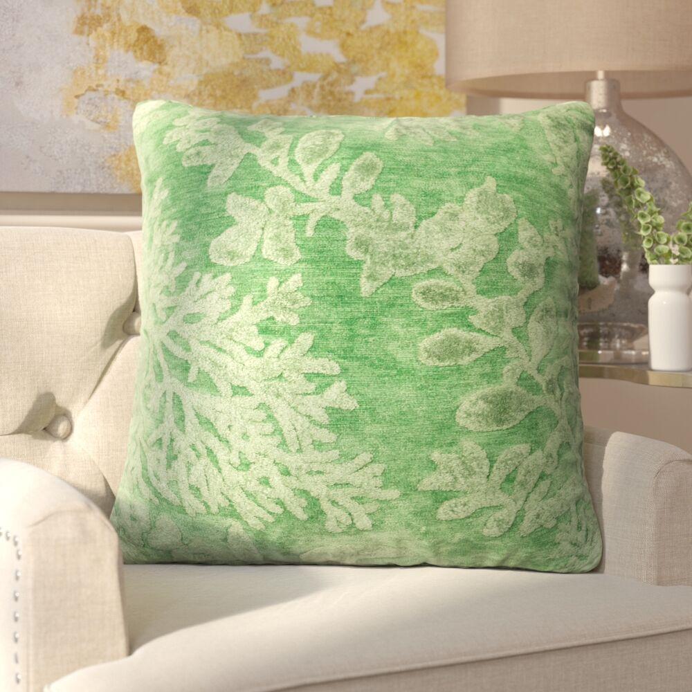 Nordin Throw Pillow Color: Kiwi