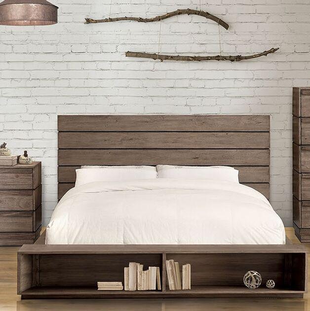 Pisani Storage Platform Bed Size: King
