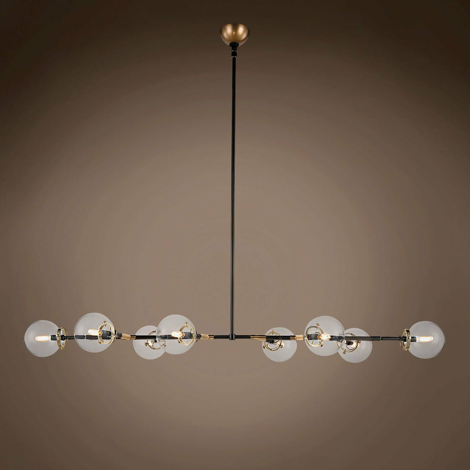 Chairez 8-Light Chandelier Finish: Burnished Brass