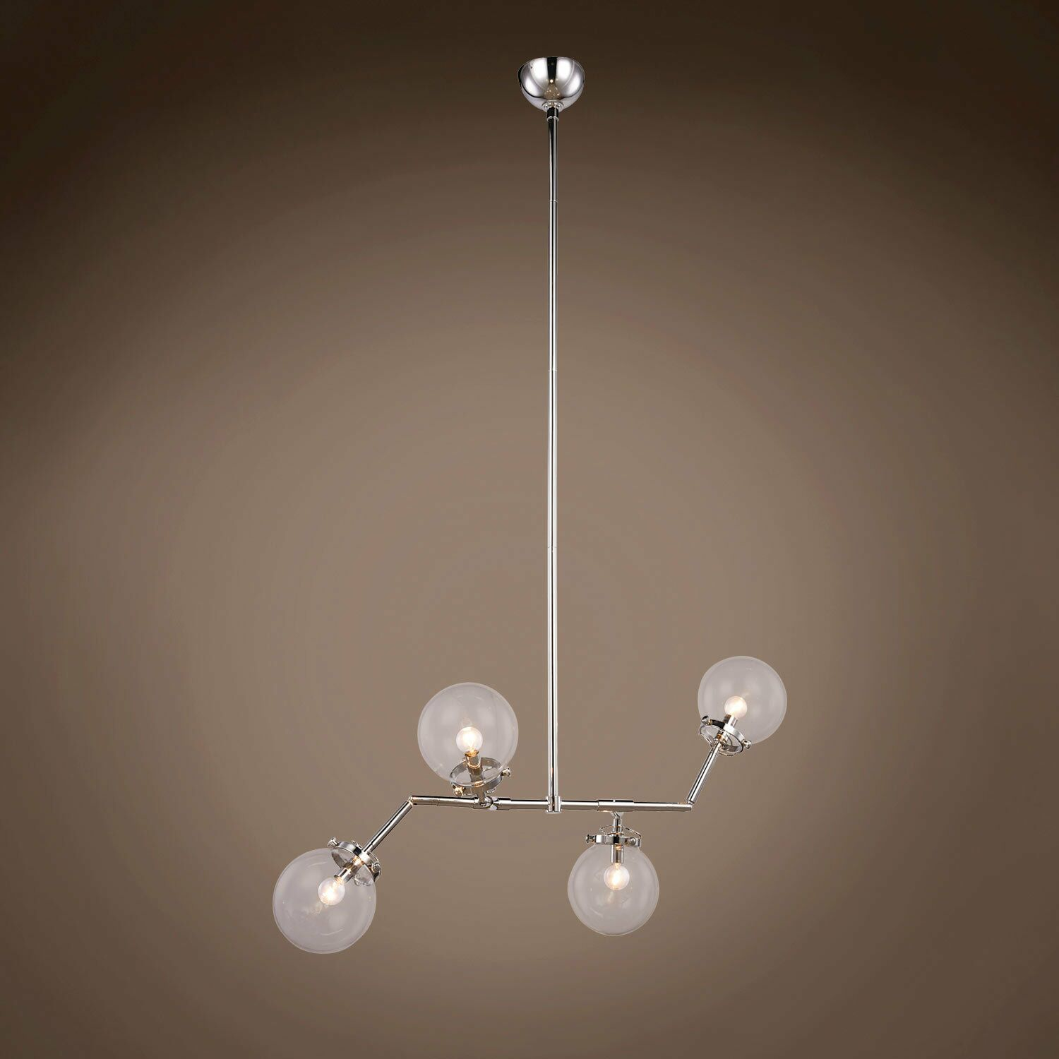 Chairez 4-Light Chandelier Finish: Polished Nickel
