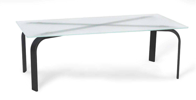 Parece Coffee Table Table Base Color: Black