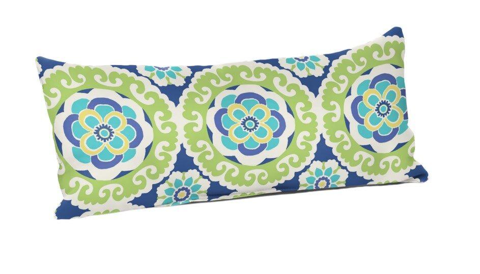 Hajek Halina Wasabi Outdoor Lumbar Pillow