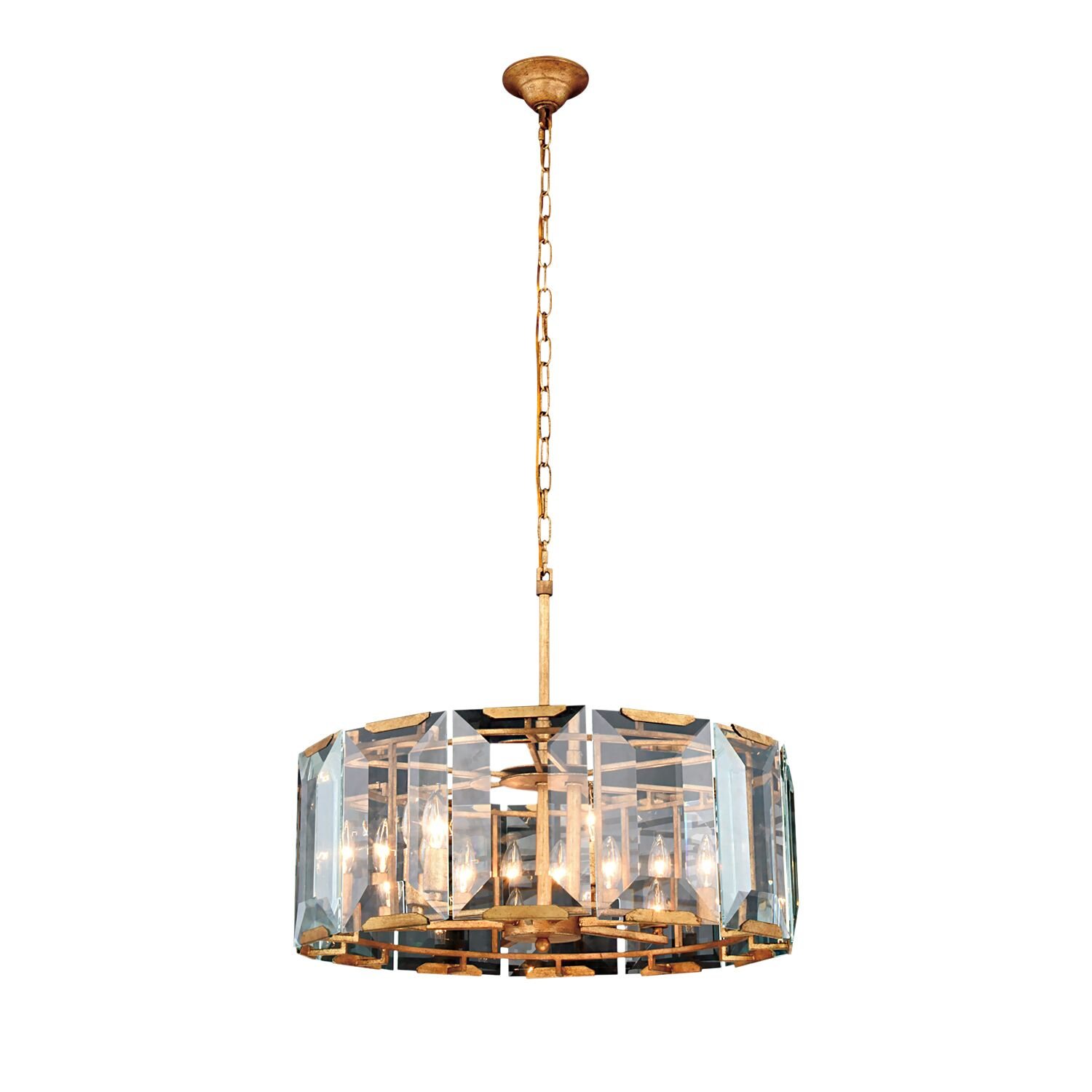 Genovese 6-Light Chandelier Finish: Gold
