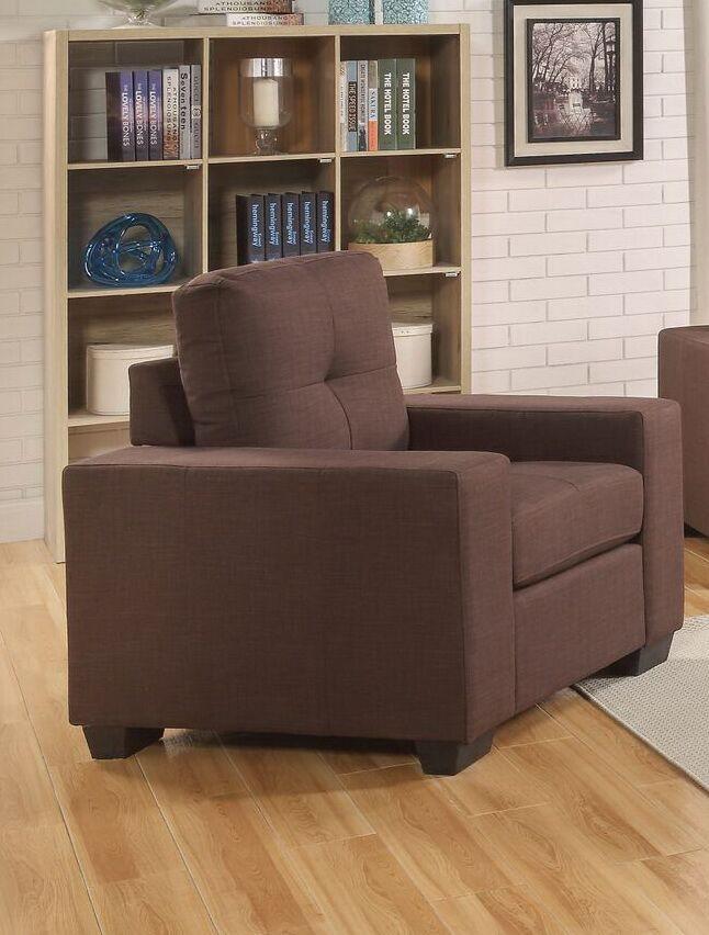 Gillock Chair Upholstery: Chocolate