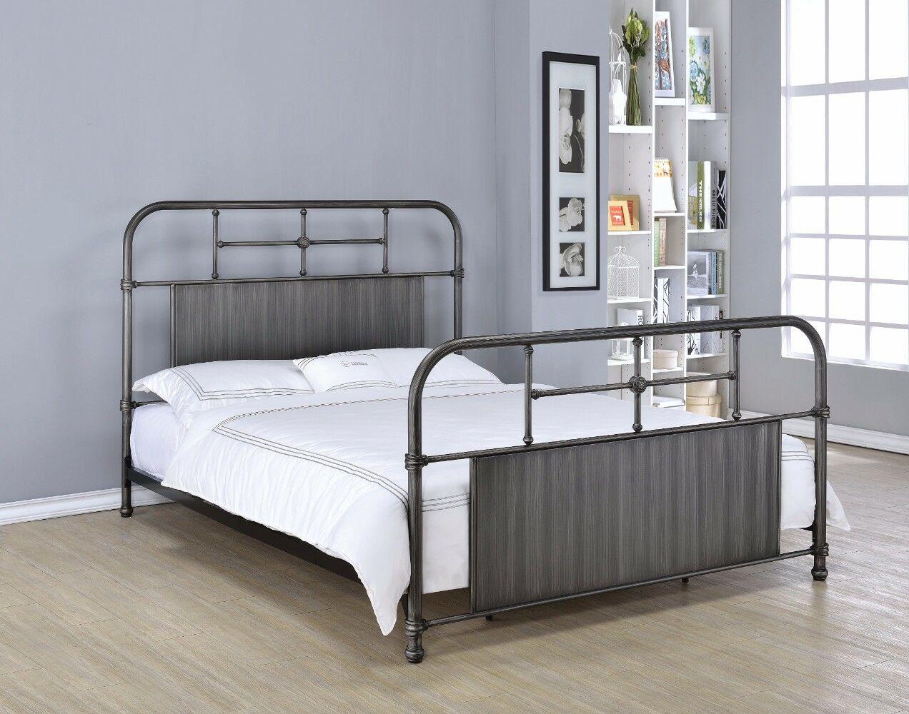 Minton Metal Queen Platform Bed