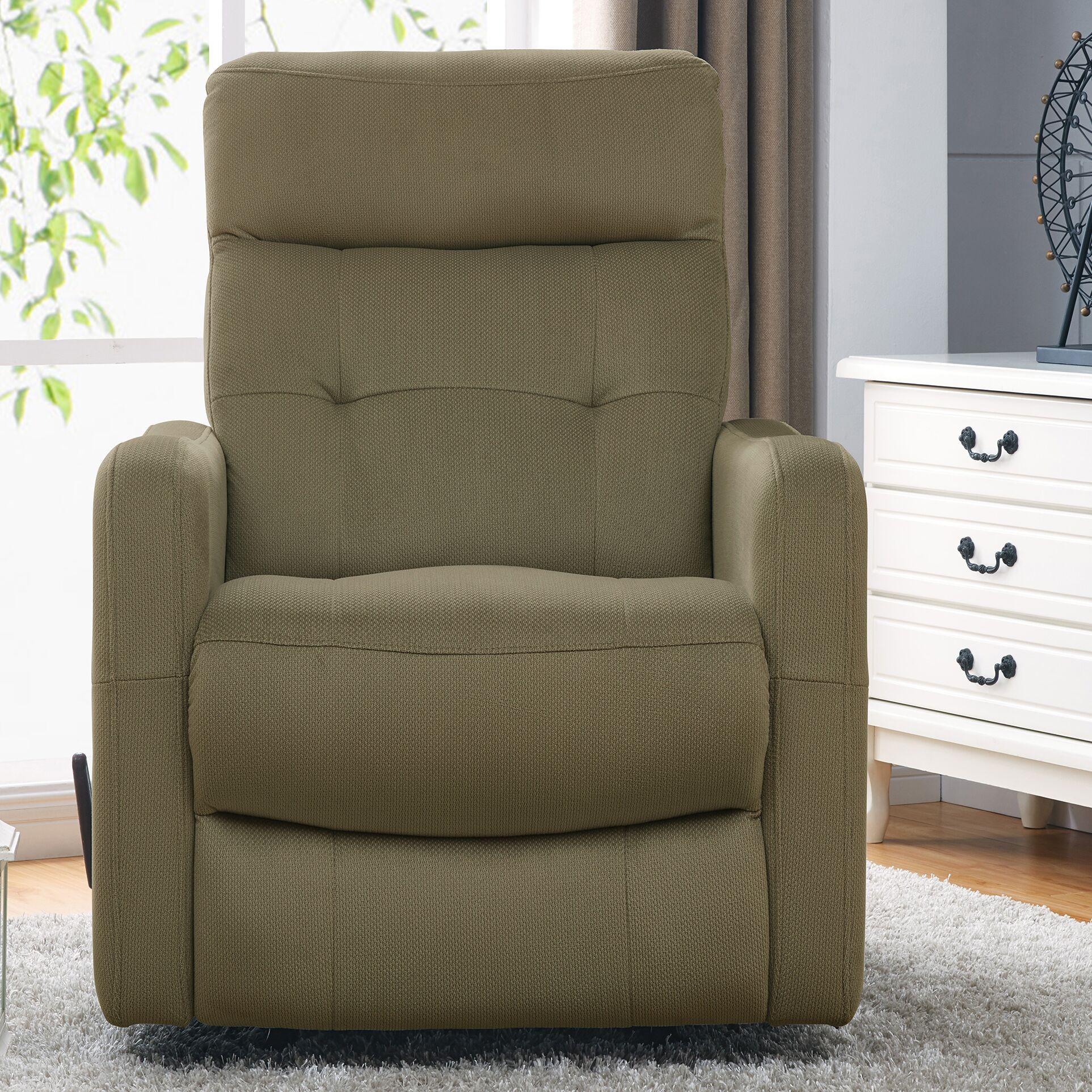 Minogue Manual Rocker Recliner Upholstery: Sage