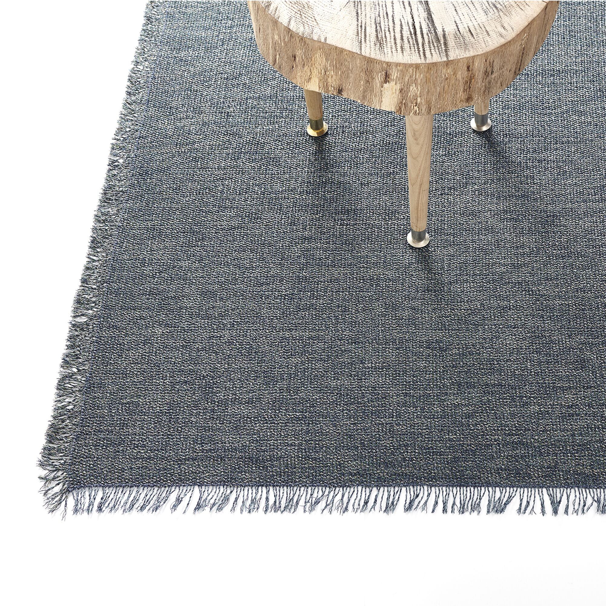 Market Fringe Gray Indoor/Outdoor Area Rug Rug Size: Rectangle 2'5