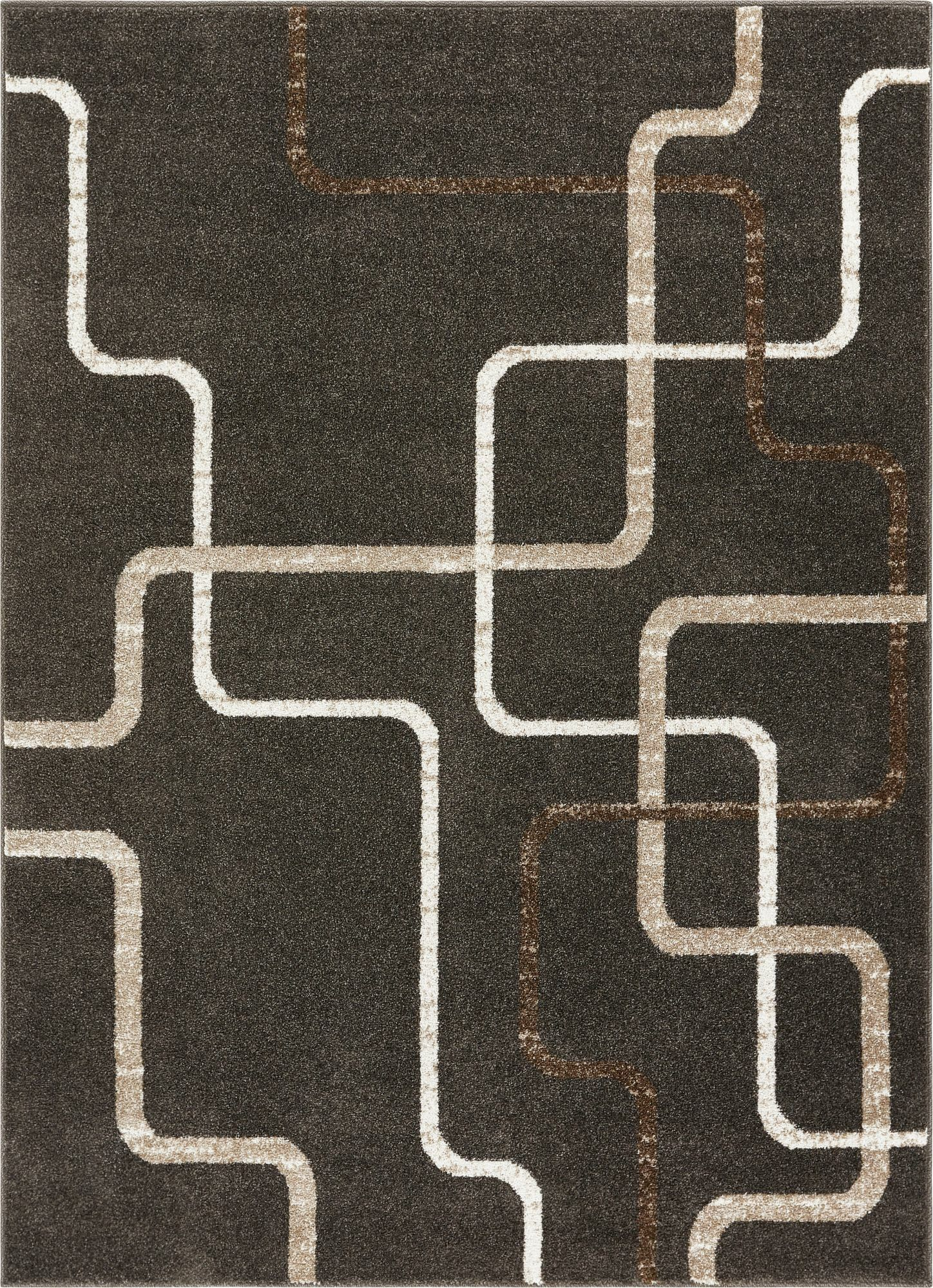 Hans Charcoal Area Rug Rug Size: Rectangle 9'3