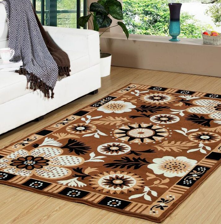 Howland Premium Brown Indoor/Outdoor Area Rug