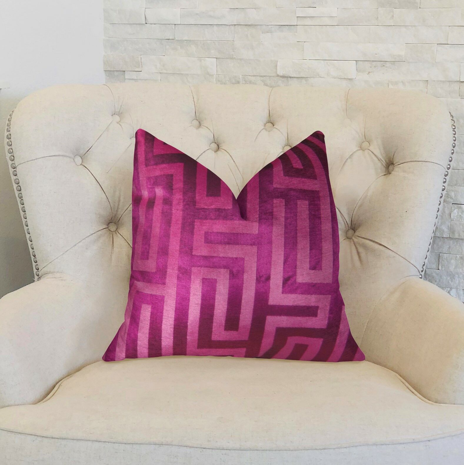 Gamez Handmade Luxury Pillow Size: 18