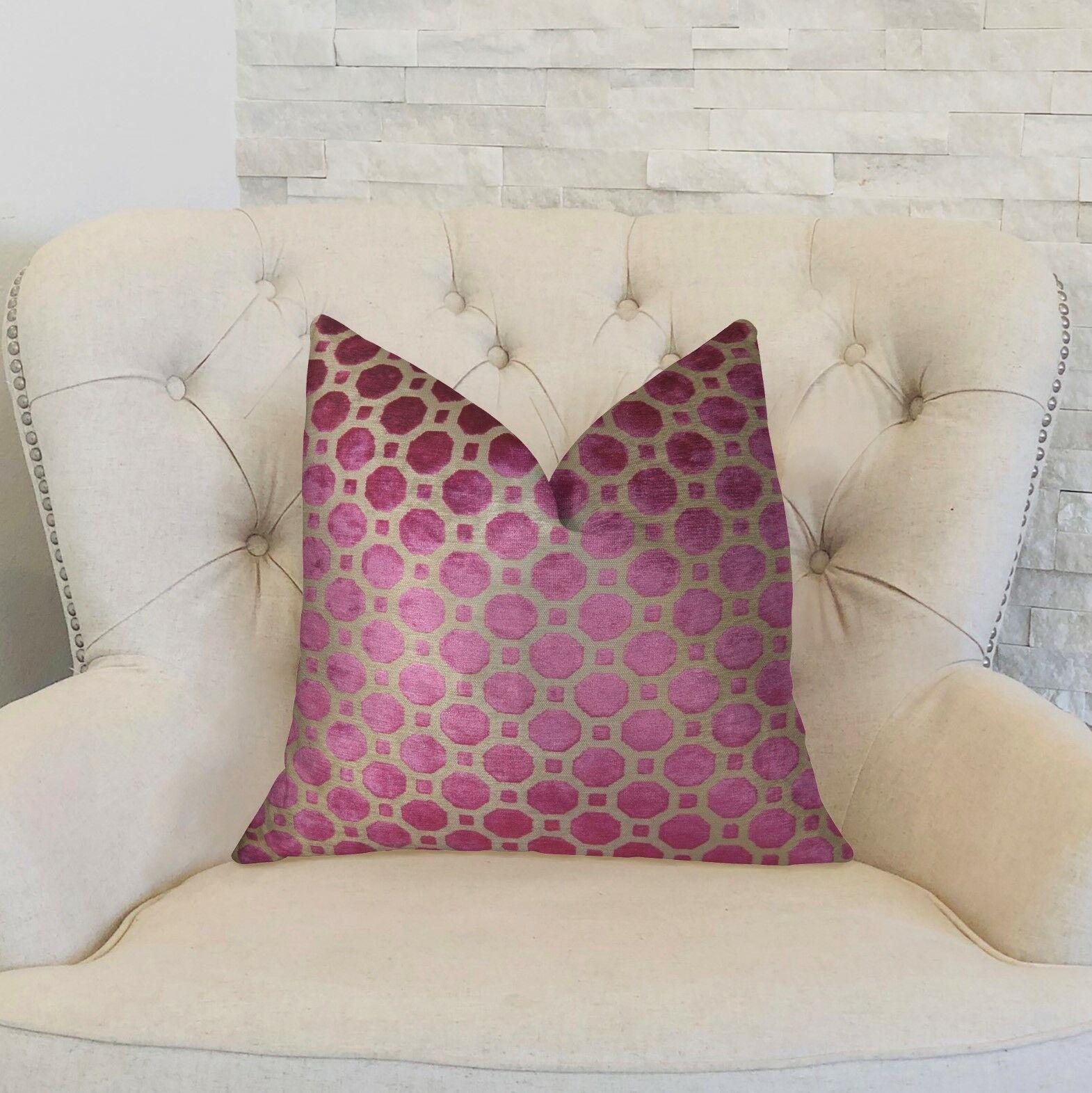 Gannon Handmade Luxury Pillow Size: 20