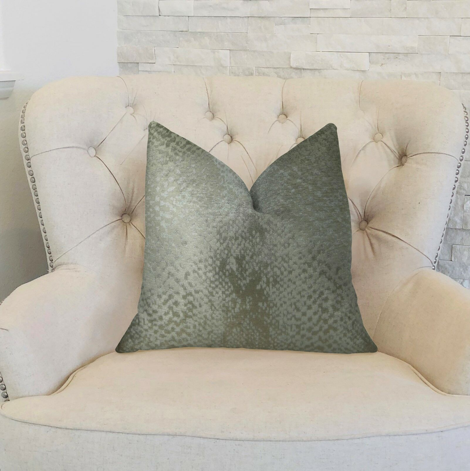 Gantt Handmade Luxury Pillow Size: 22