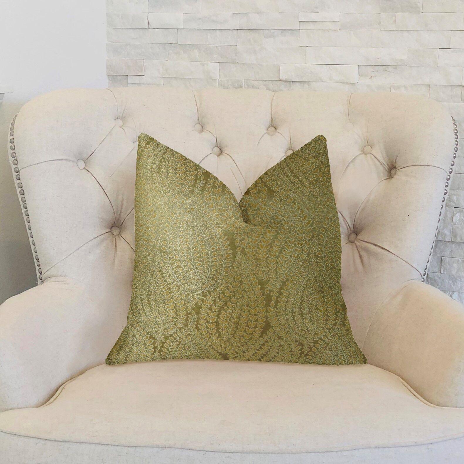 Kwon Handmade Luxury Pillow Size: 22