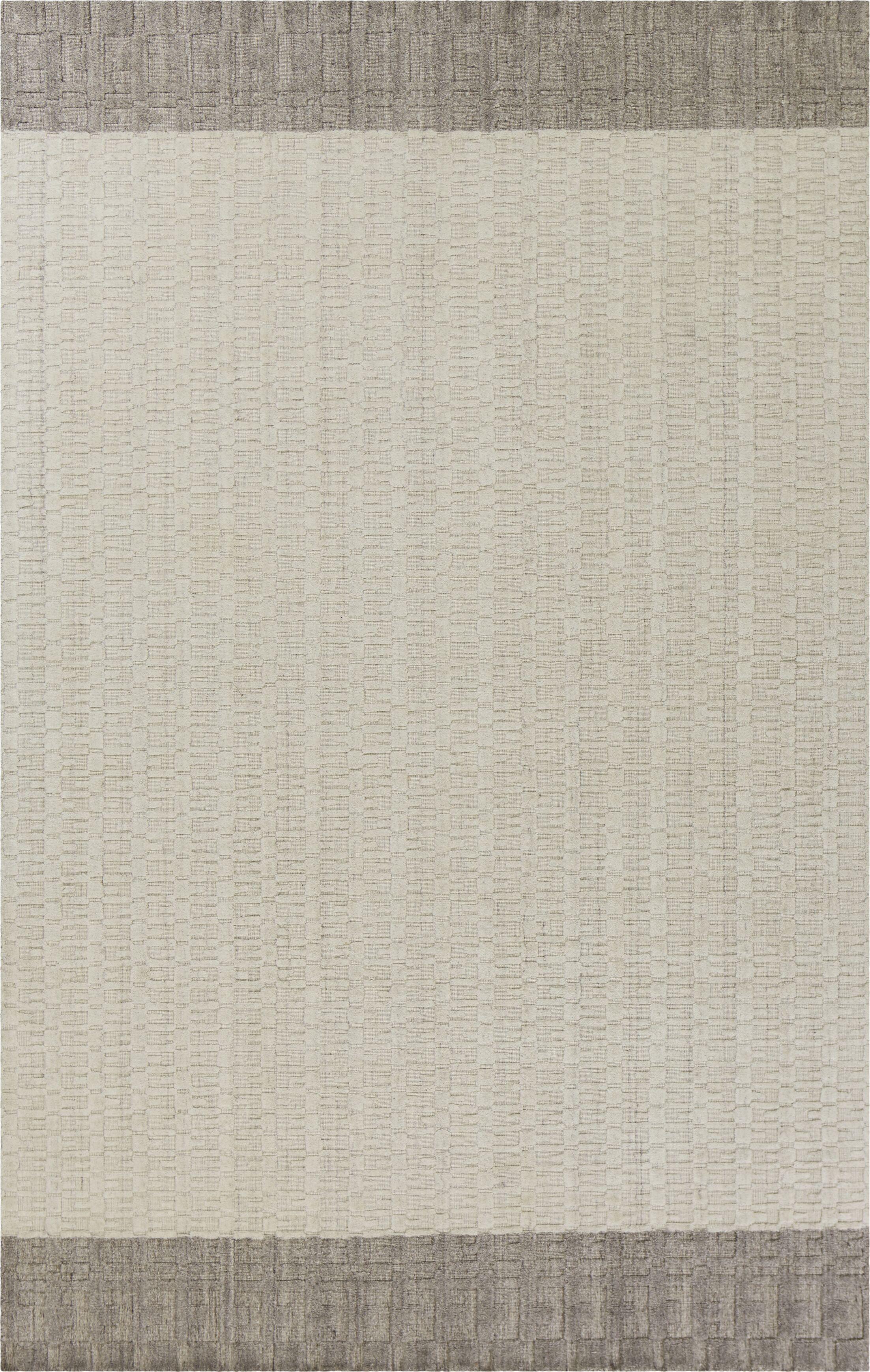 Arroyo Hand-Woven Gray Area Rug Rug Size: Rectangle 8' x 10'