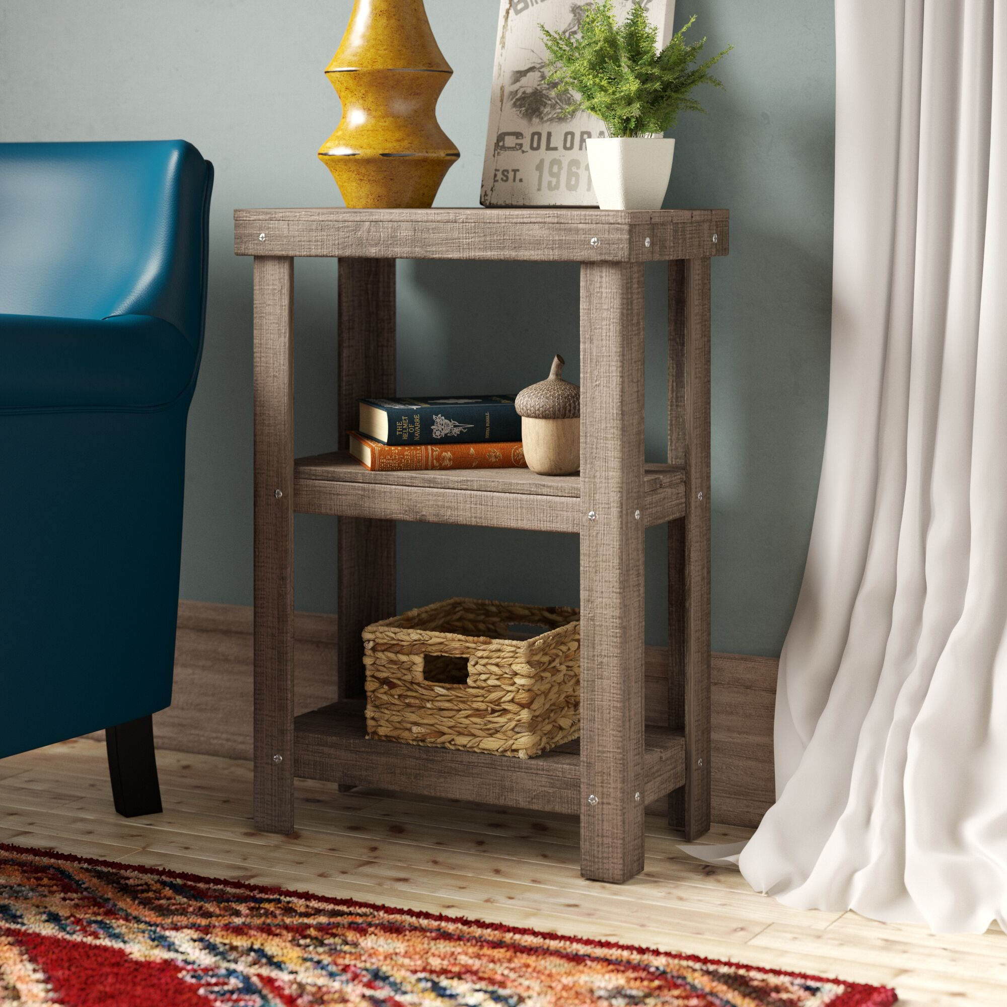 Swanson 2 Tier End Table