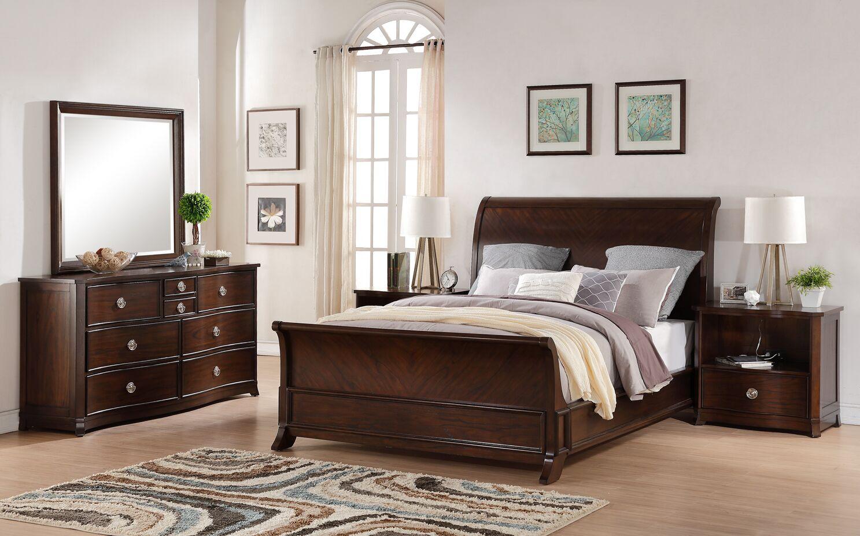 Autenberry King Sleigh 5 Piece Bedroom Set