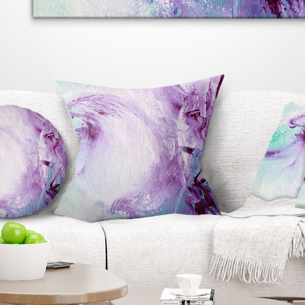 Abstract Deep Colors Pillow Size: 16