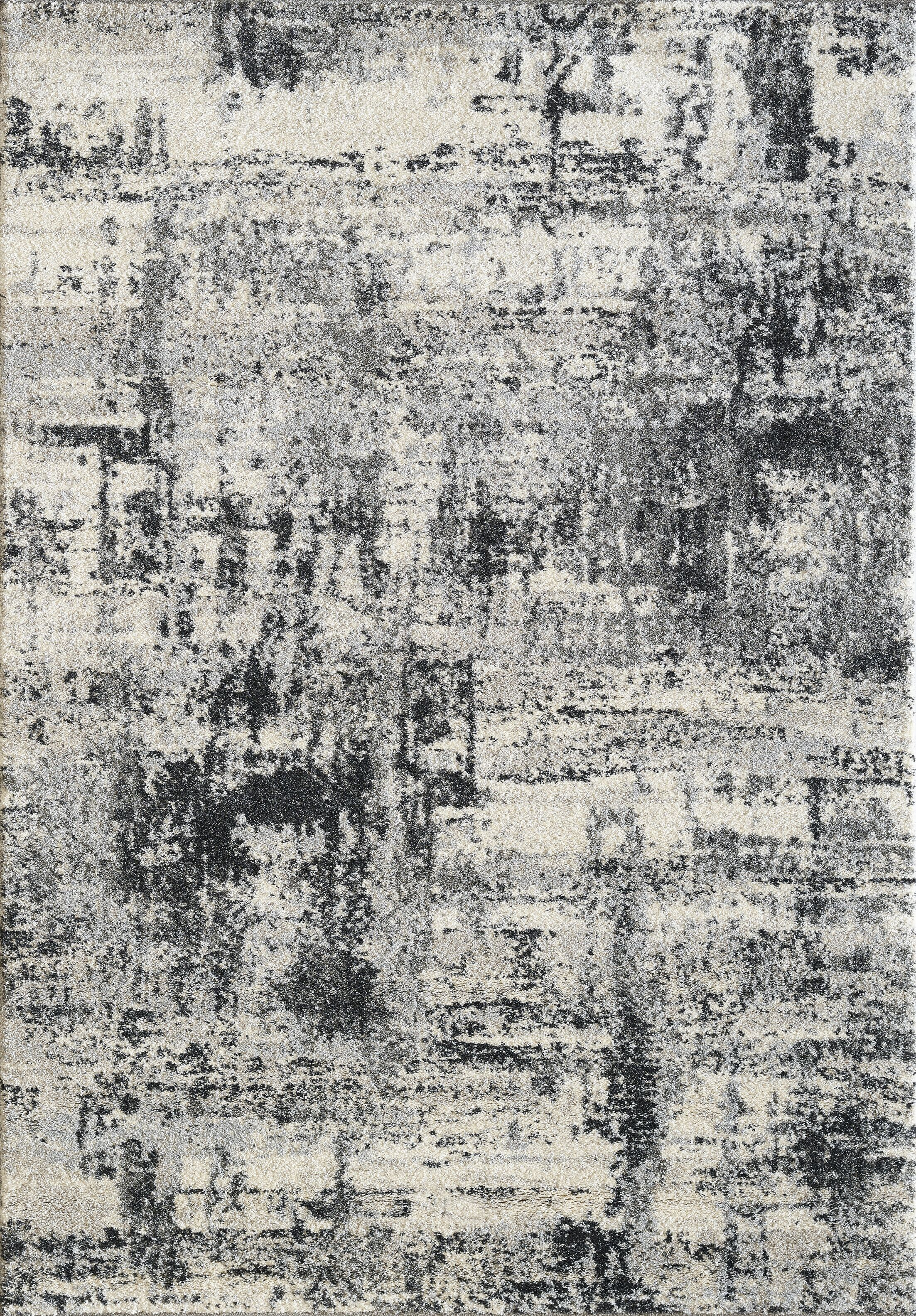 Medders Gray Area Rug Rug Size: Rectangle 3'11