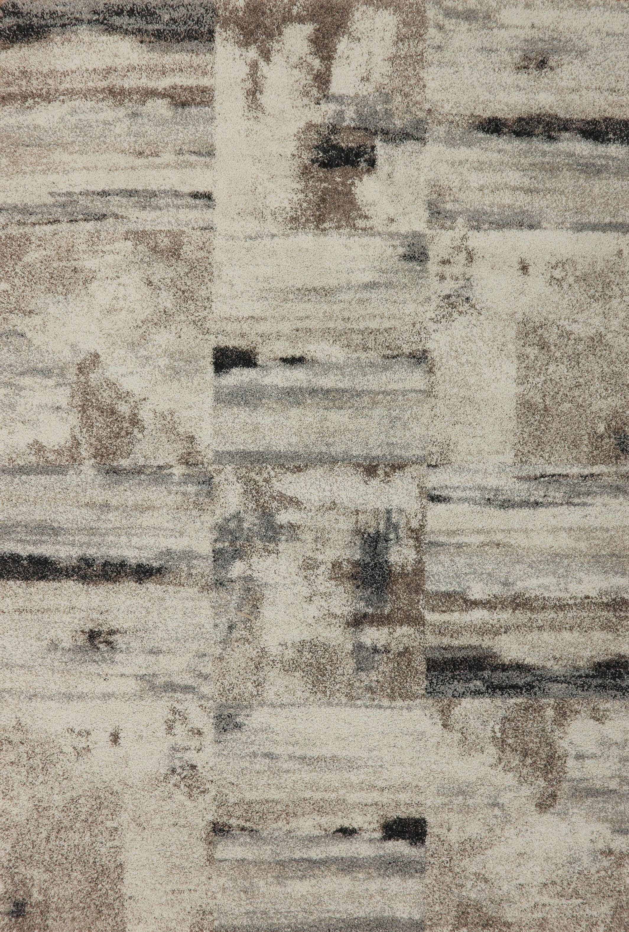 Brycen Taupe Area Rug Rug Size: Rectangle 5'3