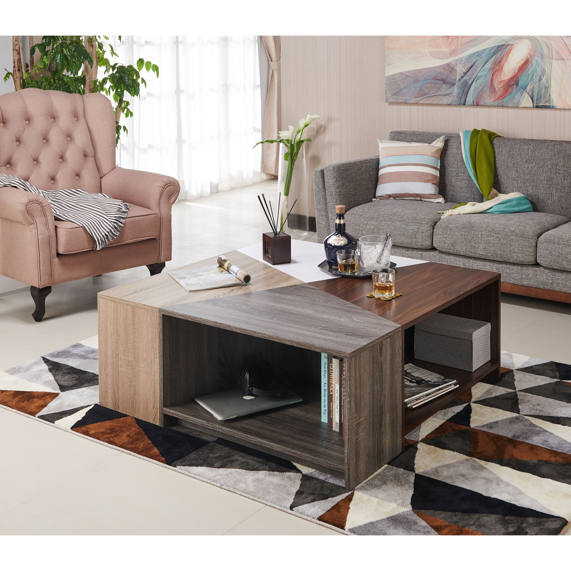 Hieronymus Modern Modular Coffee Table