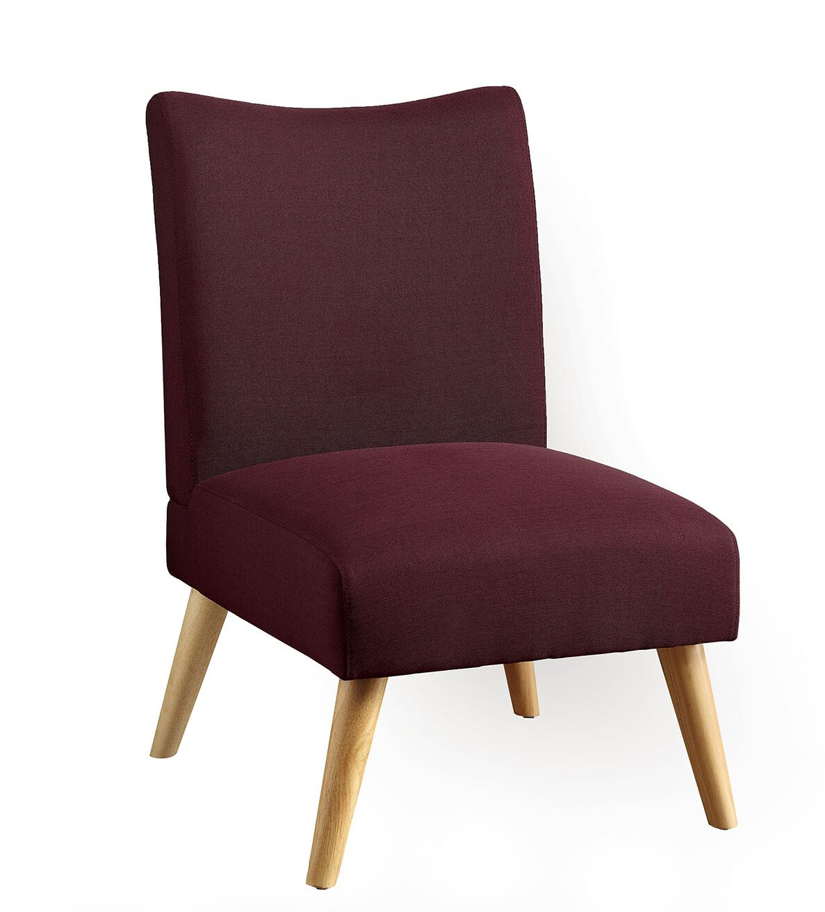 Angelo Parsons Chair Upholstery: Red Violet