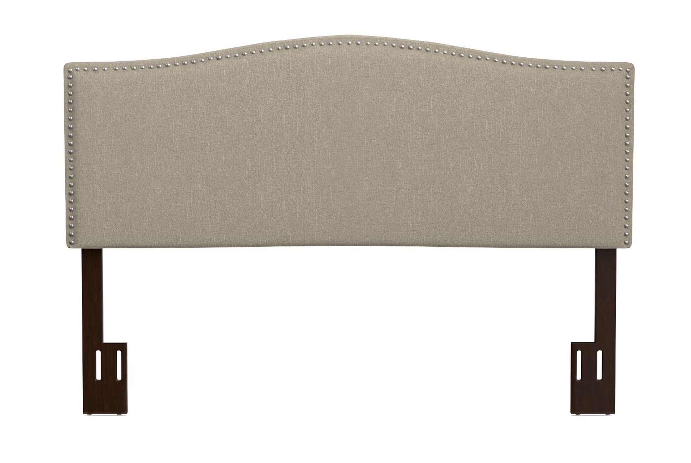 Laivai Upholstered Panel Headboard Size: King, Upholstery: Barley Tan