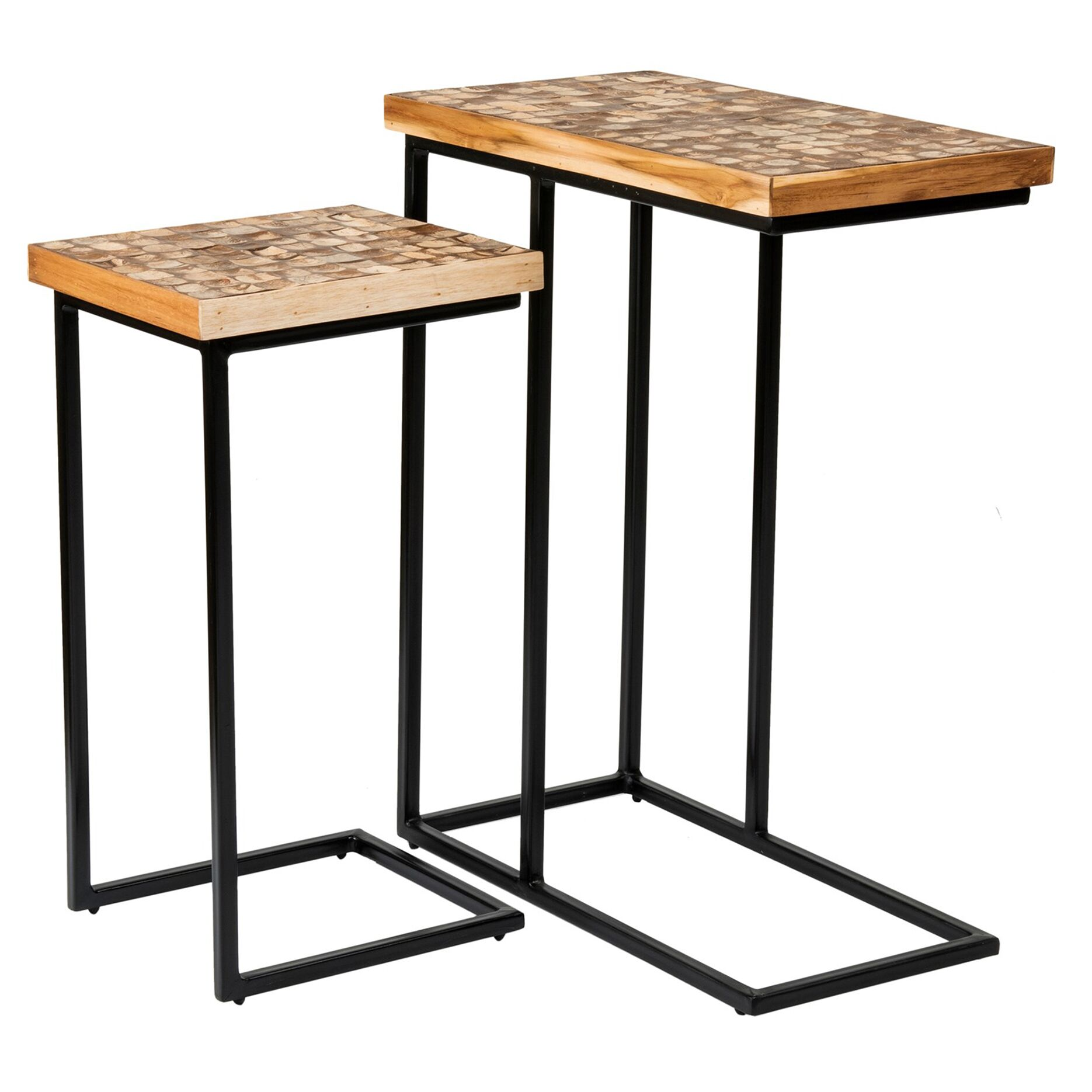 Tomberlin 2 Piece Nesting Table
