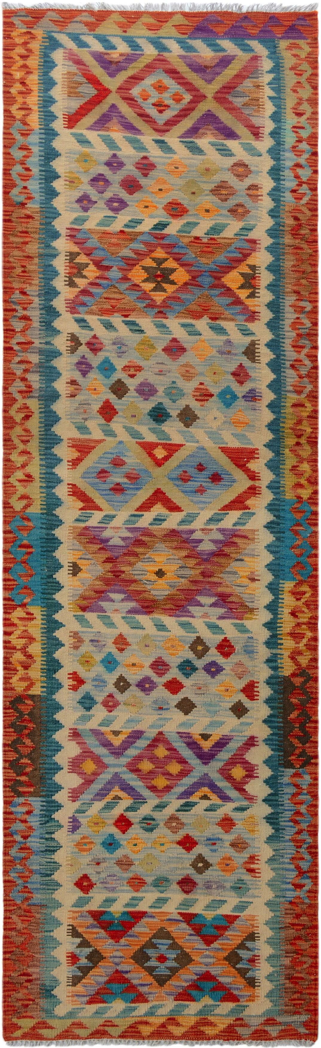 One-of-a-Kind Bakerstown Hand-Woven Red/Ivory Area Rug