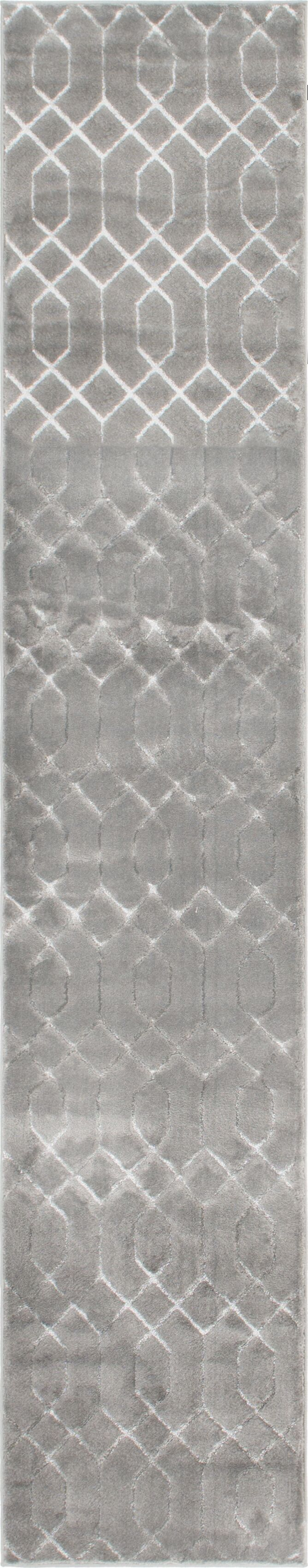 Glam Gray Area Rug Rug Size: Runner 2' x 10'