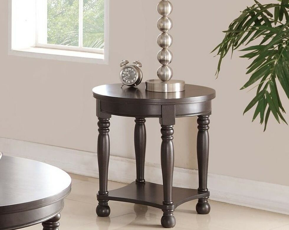 Glantz End Table Color: Antique Espresso